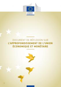 Document de réflexion sur l'approfondissement de l'union économique et monétaire