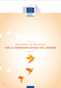 Document de réflexion sur la dimension sociale de l'Europe