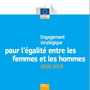 Engagement stratégique pour l'égalité entre les femmes et les hommes 2016-2019