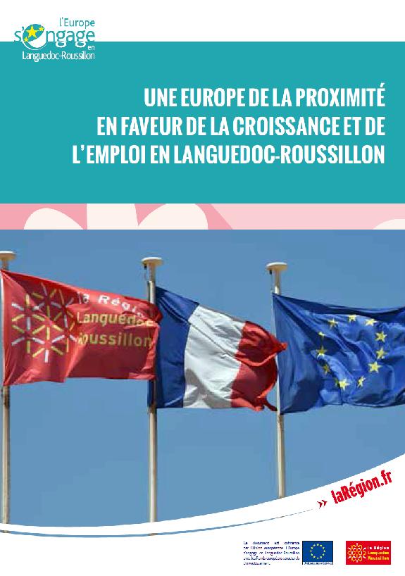 Europe de la proximit croissance et emploi en languedoc roussillon adret europe direct - Cabinet de recrutement languedoc roussillon ...