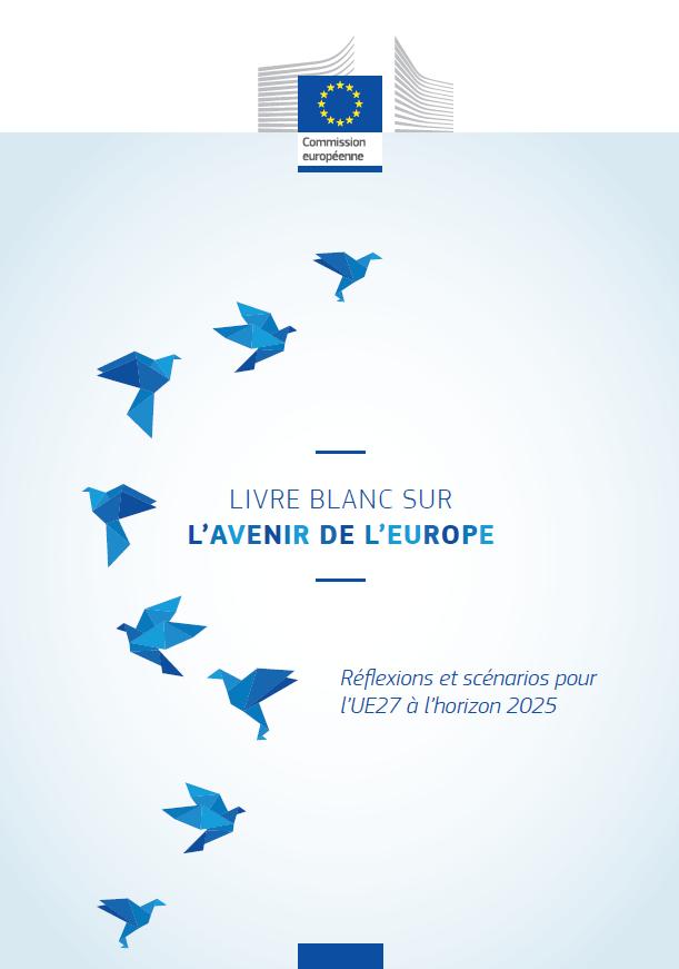 Livre Blanc Sur L Avenir De L Europe Reflexions Et